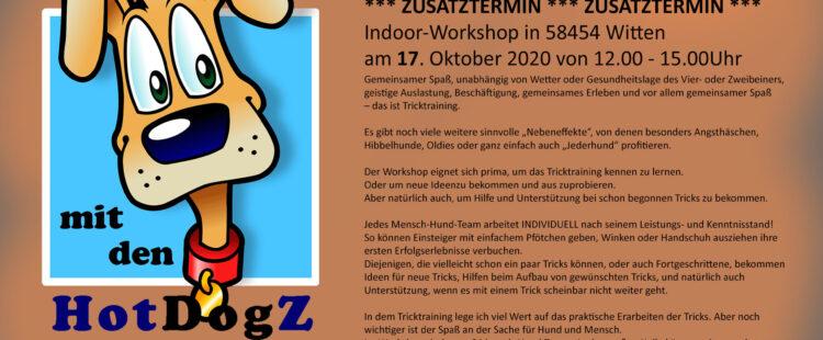 Tricktraining – Workshop – Zusatztermin!
